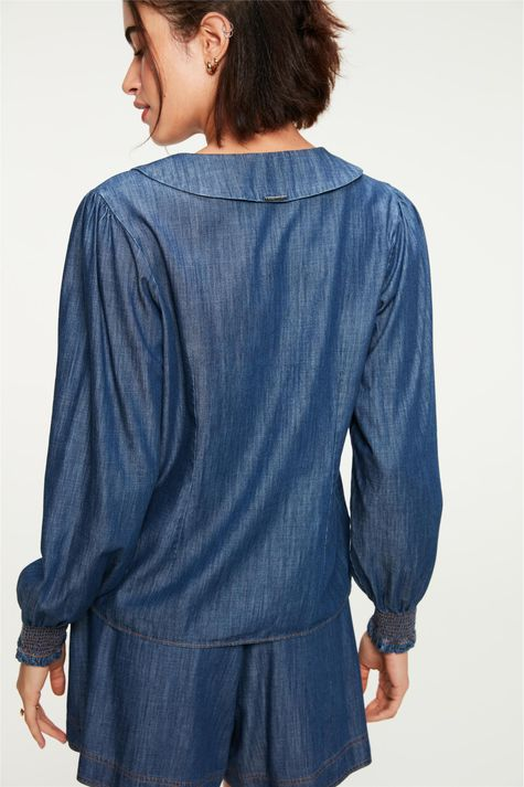 Camisa-Jeans-Maxi-Gola-e-Mangas-Bufantes-Costas--