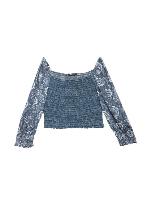 Blusa-Jeans-de-Lastex-e-Mangas-Bufantes-Detalhe-Still--