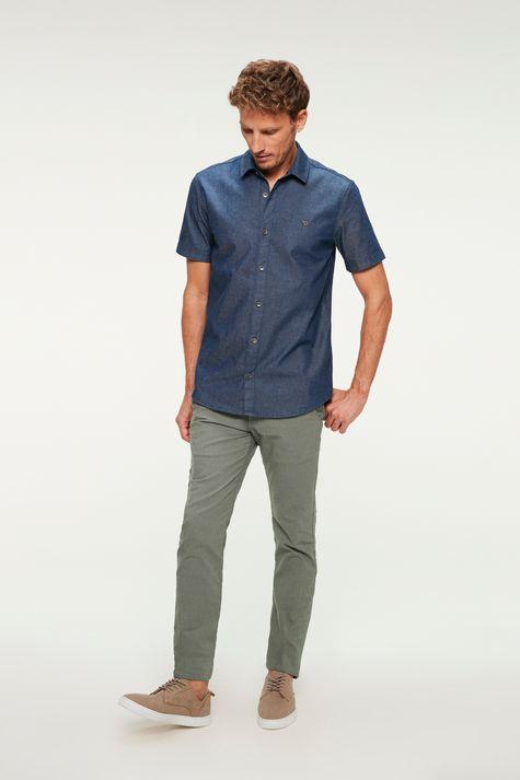 Camisa-Jeans-Escura-com-Mangas-Curtas-Detalhe-1--