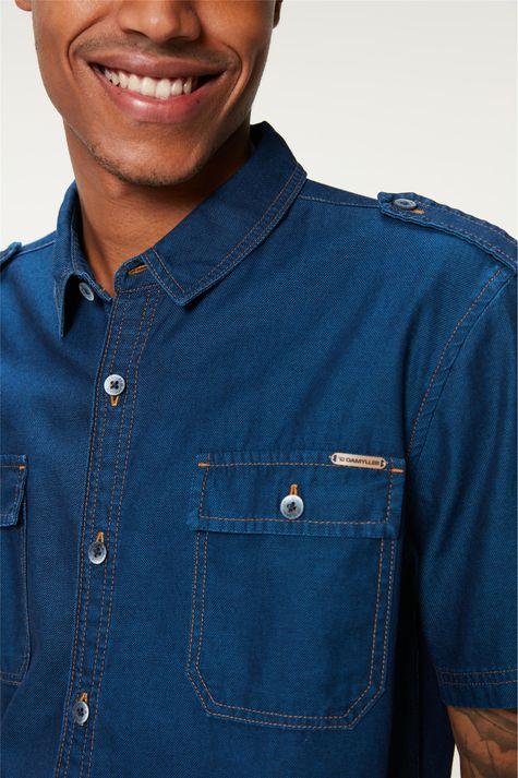 Camisa-Jeans-Utilitaria-Masculina-Detalhe--