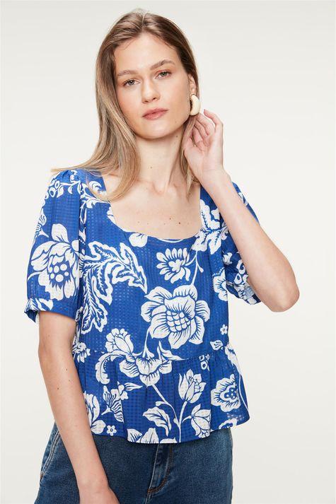 Blusa-com-Babado-Estampa-Floral-Azul-Frente--