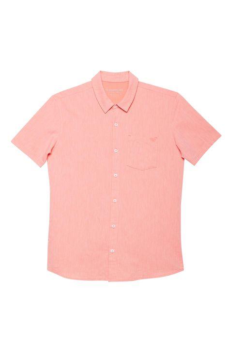 Camisa-Manga-Curta-de-Algodao-Coral-Detalhe-Still--