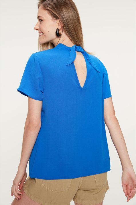 Blusa-com-Franzidos-na-Frente-Azul-Detalhe--