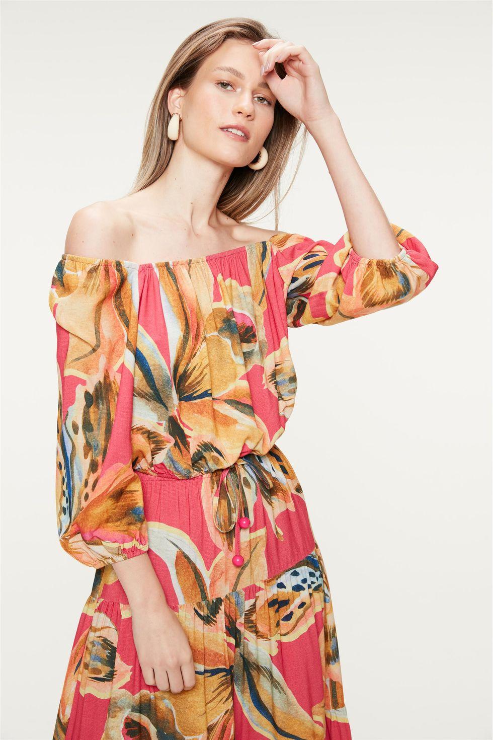 Blusa-Ombro-a-Ombro-Estampa-Floral-Rosa-Frente--