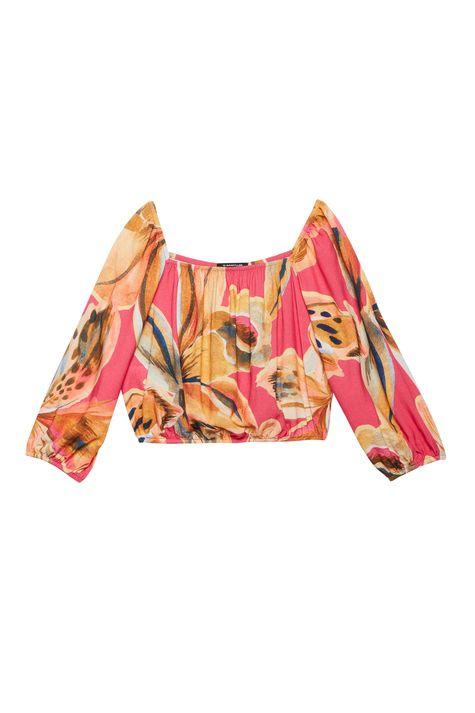 Blusa-Ombro-a-Ombro-Estampa-Floral-Rosa-Detalhe-Still--