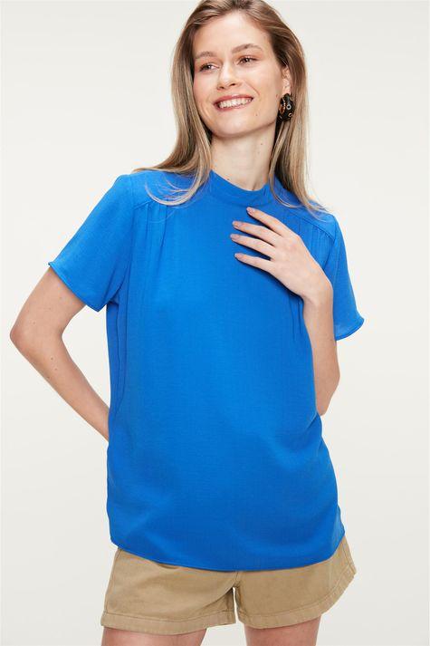 Blusa-com-Franzidos-na-Frente-Azul-Costas--