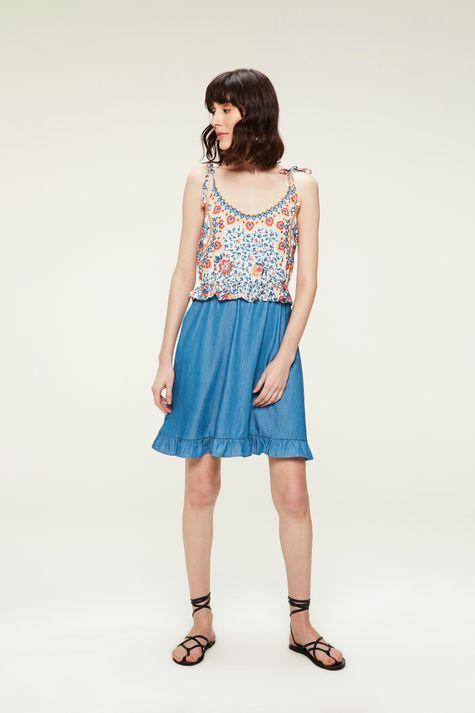 Vestido-Jeans-Estampa-Floral-Colorida-Detalhe-2--