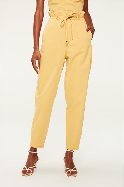 Calca-Paperbag-Cropped-Amarela-Frente--