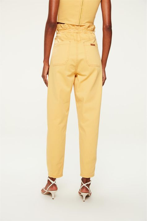 Calca-Paperbag-Cropped-Amarela-Costas--
