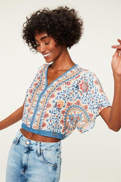 Blusa-Cropped-Estampa-Floral-Colorida-Frente--