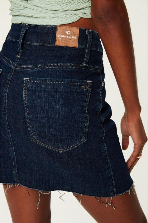 Saia-Jeans-Escuro-Mini-com-Ziper-Costas--