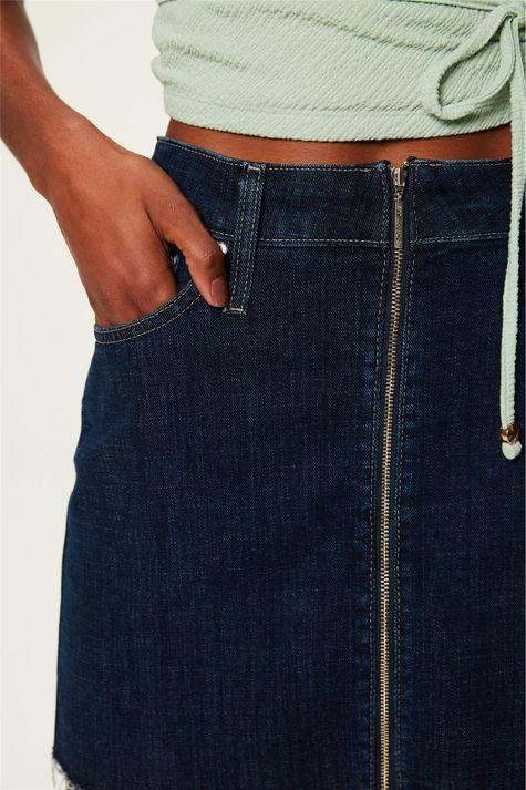 Saia-Jeans-Escuro-Mini-com-Ziper-Detalhe--