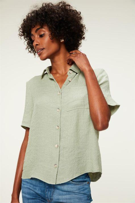 Camisa-Manga-Curta-com-Textura-Frente--