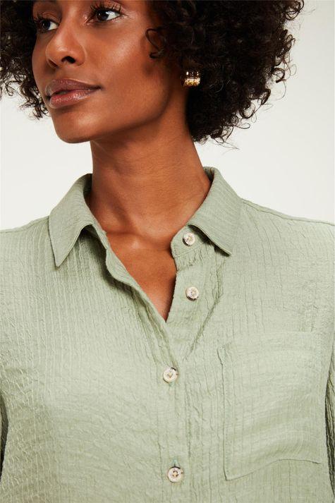 Camisa-Manga-Curta-com-Textura-Detalhe--