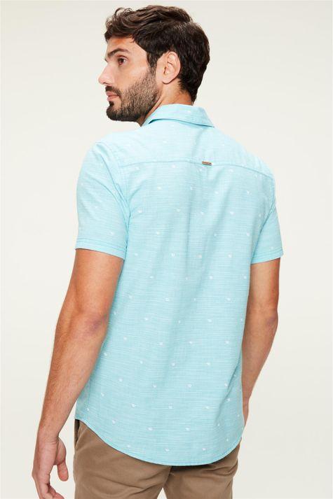 Camisa-de-Algodao-com-Estampa-Azul-Claro-Costas--