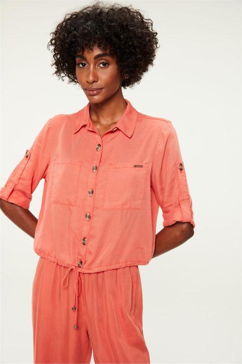 Camisa-de-Liocel-Meia-Manga-Feminina-Frente--