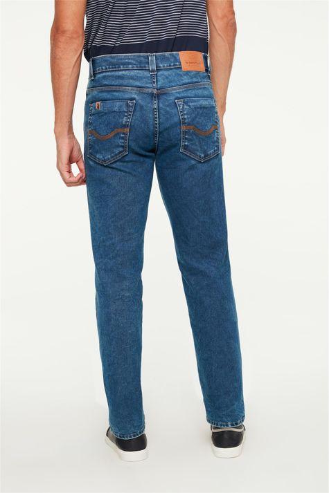 Calca-Jeans-Escuro-Reta-Masculina-C2-Costas--