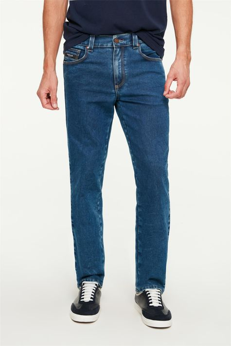 Calca-Jeans-Escuro-Reta-Masculina-C2-Detalhe--