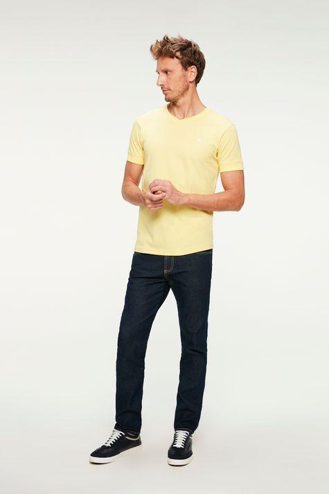 Camiseta-College-Gola-V-Masculina-Detalhe-1--