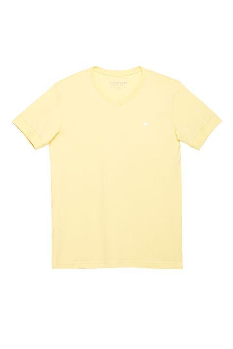 Camiseta-College-Gola-V-Masculina-Detalhe-Still--