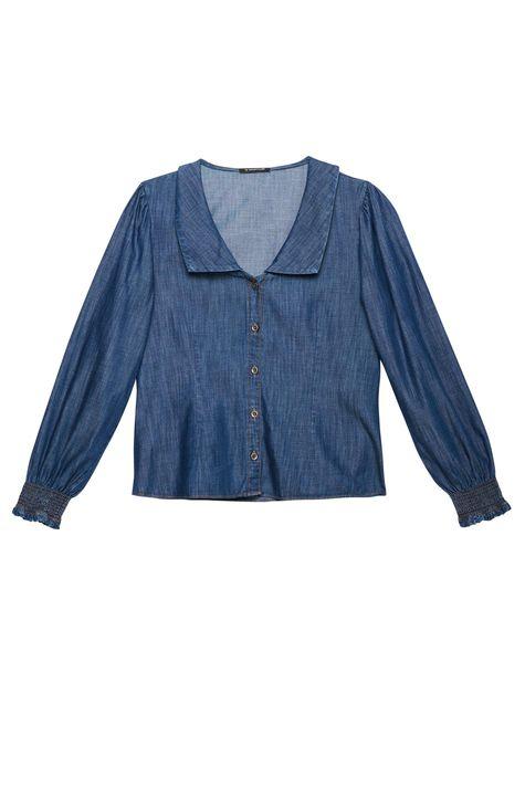 Camisa-Jeans-Maxi-Gola-e-Mangas-Bufantes-Detalhe-Still--