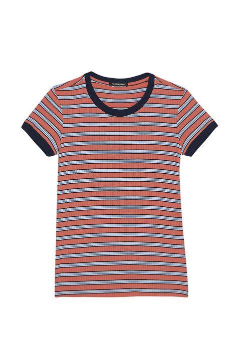 Camiseta-Feminina-Listrada-com-Ribana-Detalhe-Still--
