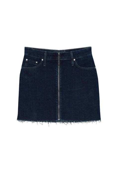 Saia-Jeans-Escuro-Mini-com-Ziper-Detalhe-Still--