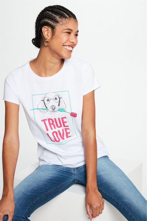 Camiseta-com-Estampa-True-Love-Feminina-Frente--