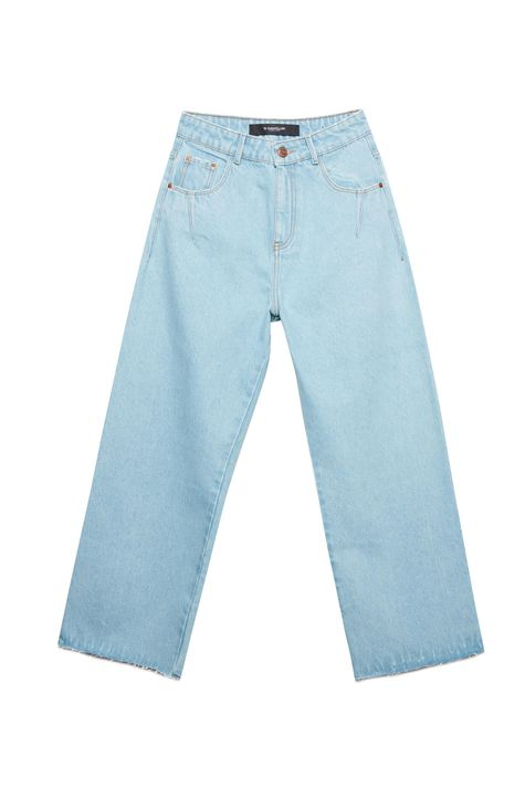 Calca-Jeans-Azul-Claro-Wide-Leg-Cropped-Detalhe-Still--