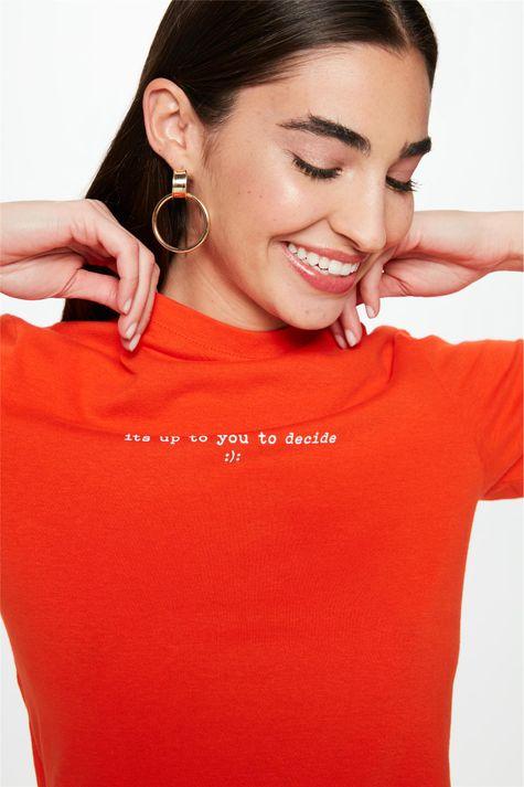 Camiseta-Estampa-Its-Up-To-You-Decide-Detalhe--