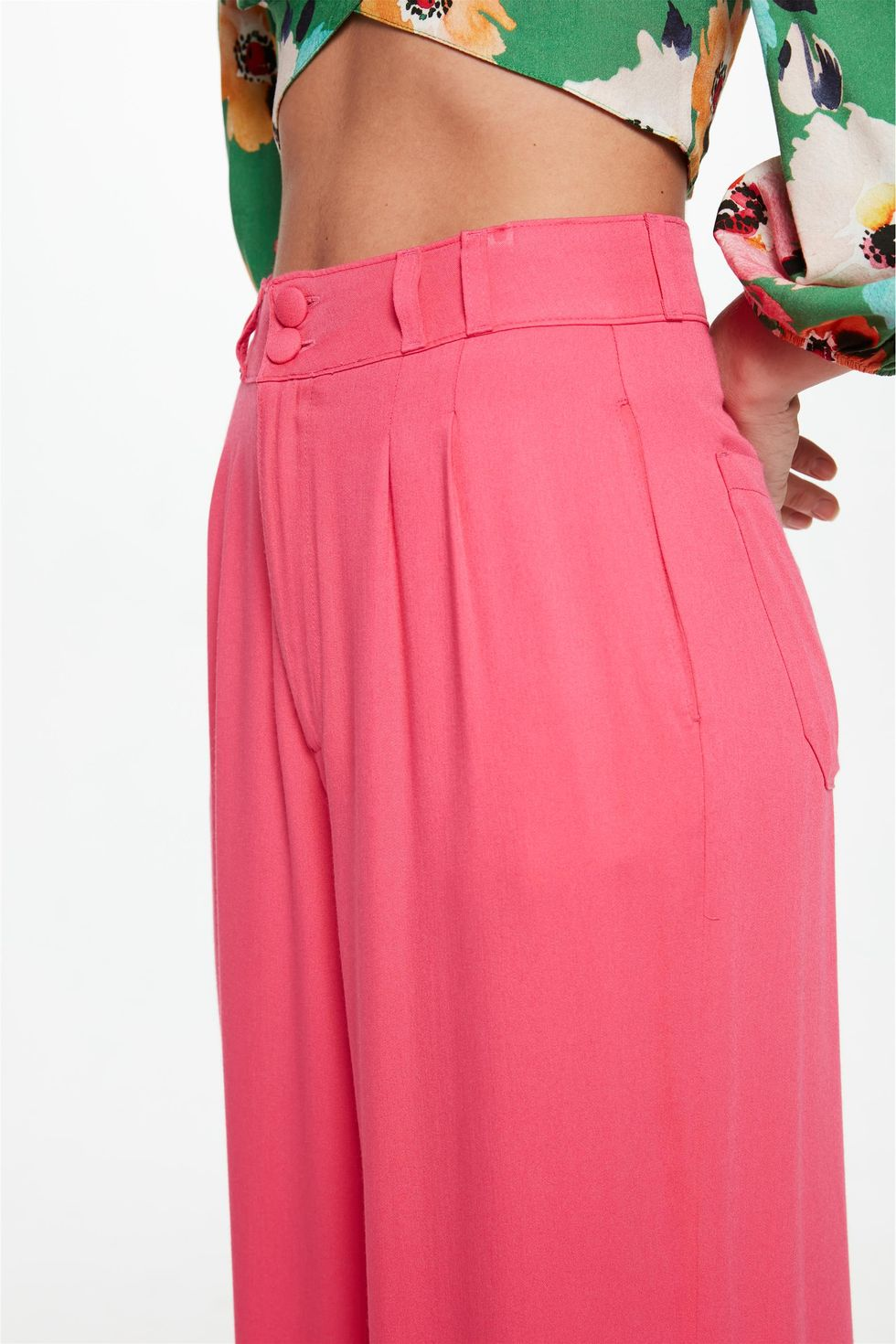 Calca-Pantalona-Cintura-Alta-C1-Rosa-Detalhe-1--