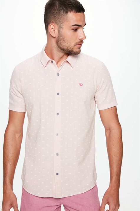 Camisa-Manga-Curta-Estampada-Masculina-Frente--