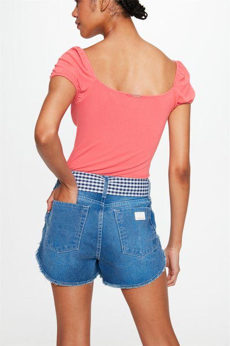 Short-Jeans-Medio-Micro-com-Lenco-Vichy-Costas--
