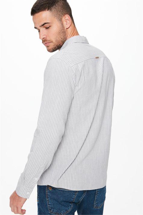 Camisa-Manga-Longa-Listrada-Masculina-Costas--