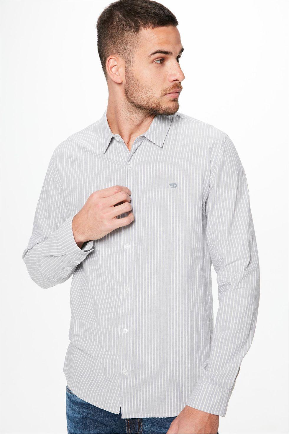 Camisa-Manga-Longa-Listrada-Masculina-Frente--