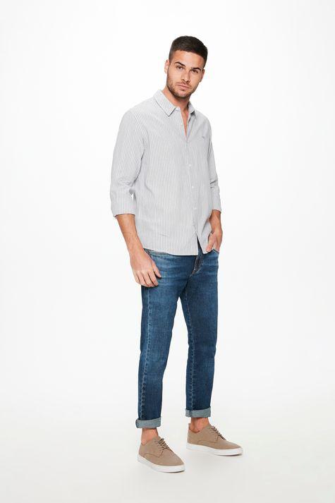 Camisa-Manga-Longa-Listrada-Masculina-Detalhe-1--
