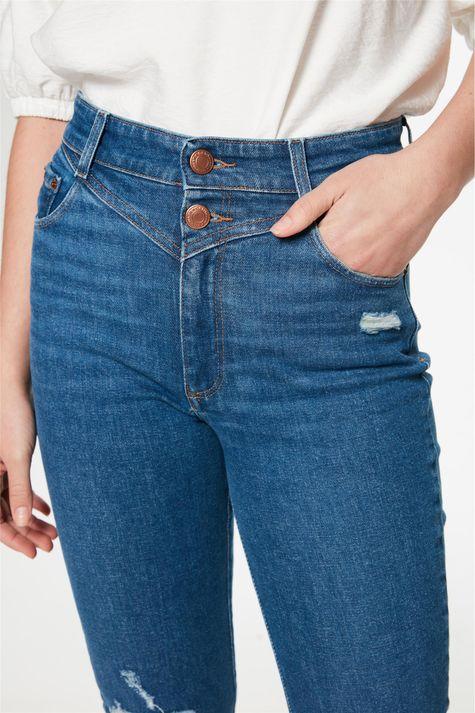 Calca-Jeans-Skinny-com-Recorte-Feminina-Frente--