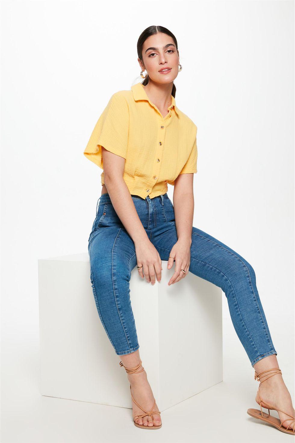 Calca-Jeans-Medio-Slim-com-Recorte-Frente--