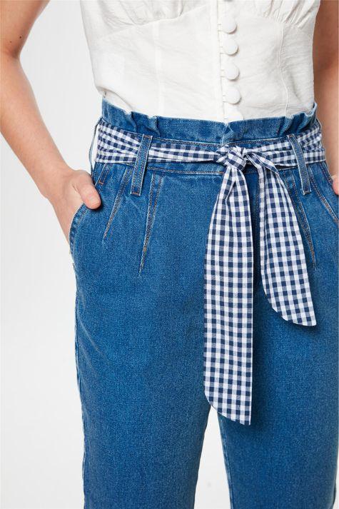 Calca-Jeans-Clochard-com-Lenco-Vichy-Frente--