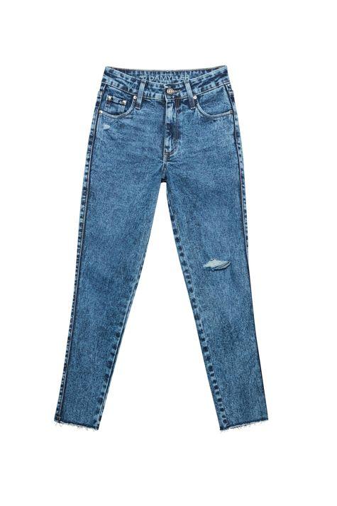 Calca-Jeans-Marmorizada-Skinny-Desfiada-Detalhe-Still--