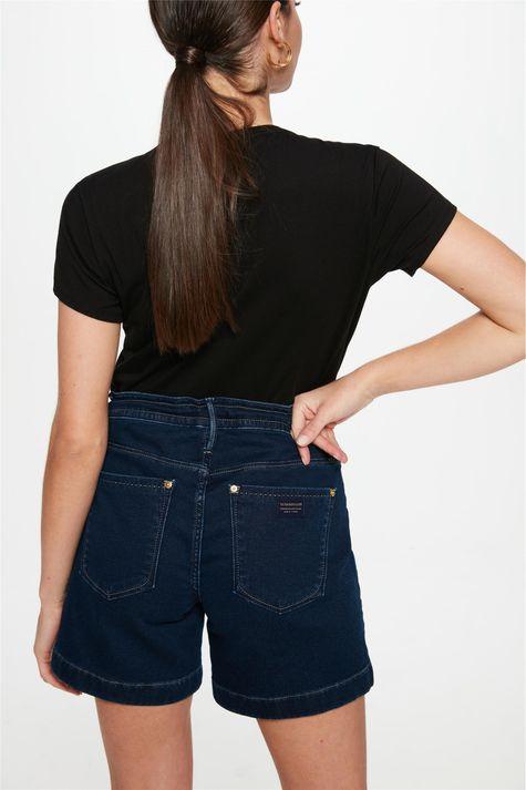 Bermuda-Jeans-Escuro-Jogger-C15-Feminina-Costas--