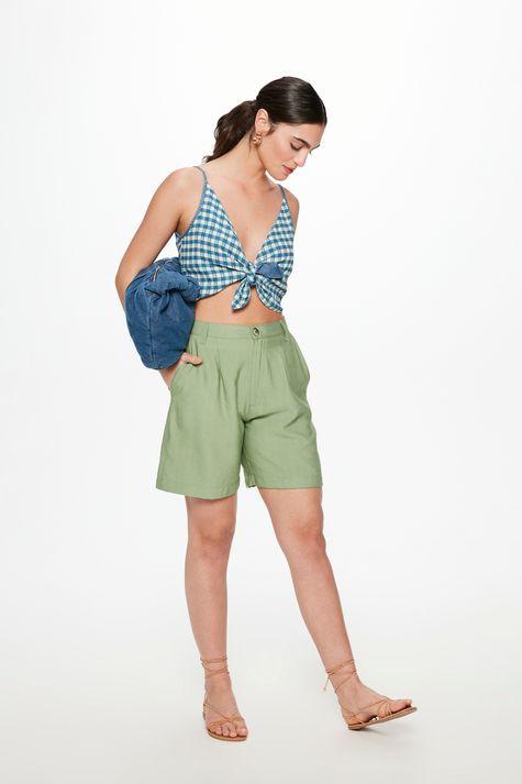 Blusa-Jeans-Dupla-Face-Vichy-Cropped-Detalhe--