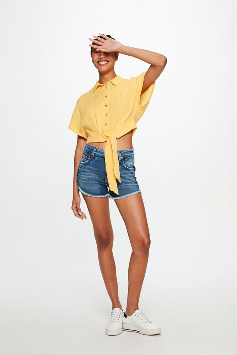 Short-Jeans-Medio-Curto-Justo-Desfiado-Detalhe-2--