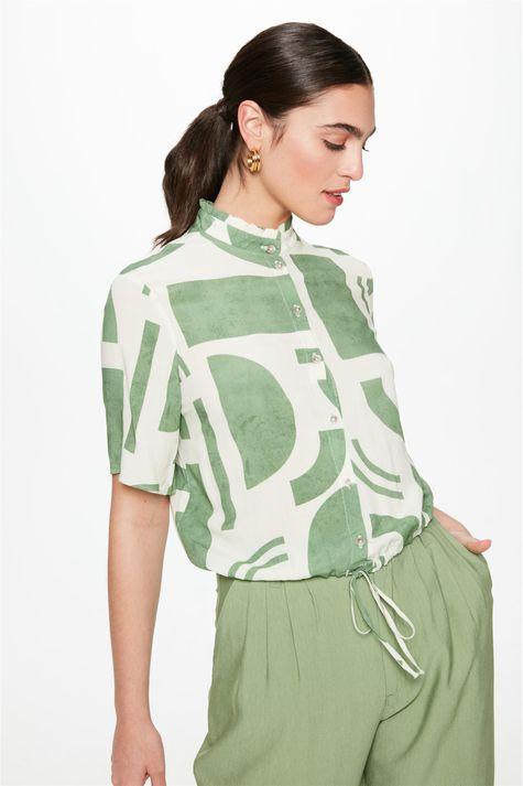 Camisa-com-Estampa-Geometrica-Feminina-Frente--