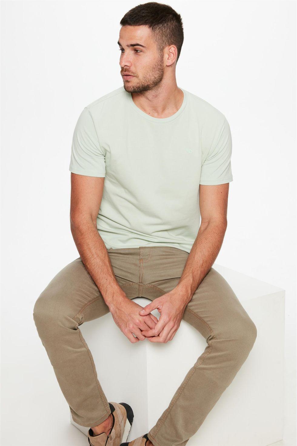 Calca-Super-Skinny-Verde-Oliva-Masculina-Frente--
