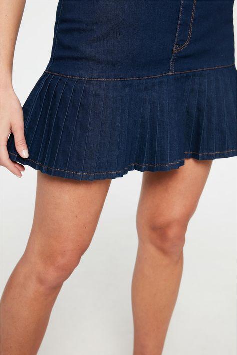 Saia-Jeans-Escuro-com-Babado-Plissado-Detalhe-1--