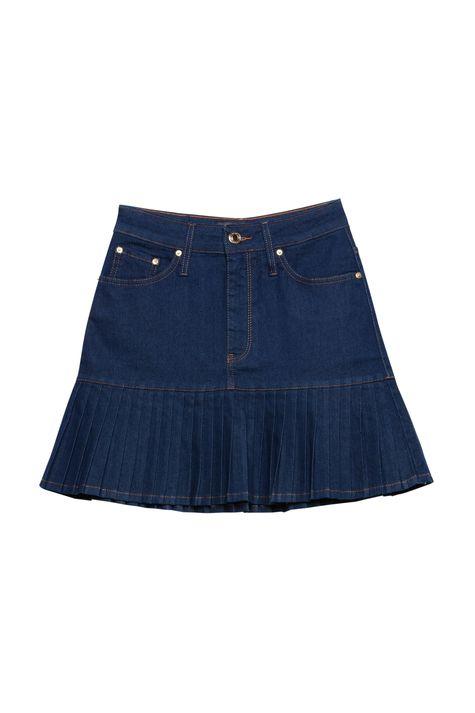 Saia-Jeans-Escuro-com-Babado-Plissado-Detalhe-Still--