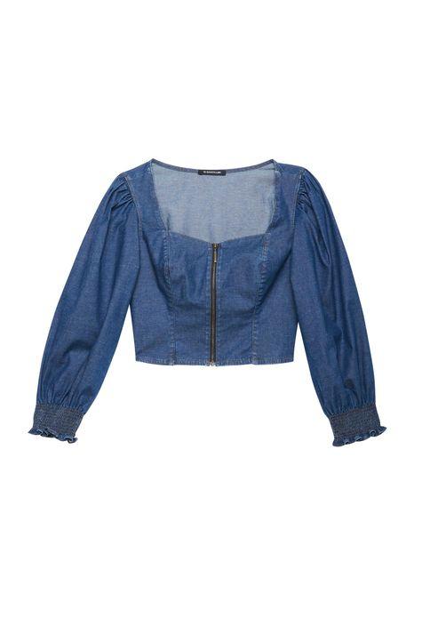 Blusa-Jeans-Leve-com-Mangas-Bufantes-Detalhe-Still--
