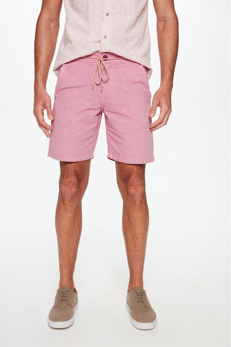 Bermuda-Jogger-C20-Rosa-Masculina-Detalhe--