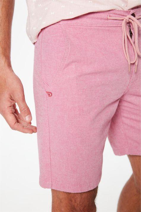 Bermuda-Jogger-C20-Rosa-Masculina-Detalhe-1--